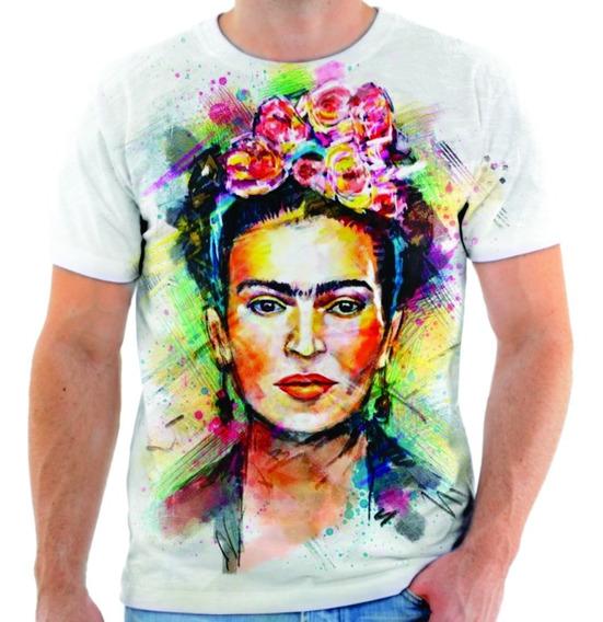 estilo popular vende bajo precio camiseta frida kahlo mujer