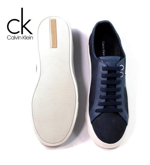 Tênis Sapatenis Calvin Klein Couro