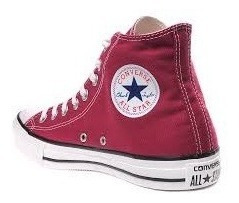 Tênis Converse All Star Cano Alto Bota Bordô