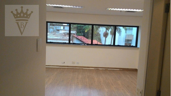 Sala À Venda, 108 M² Por R$ 1.100.000 - Jardim Paulista - São Paulo/sp - Sa0055