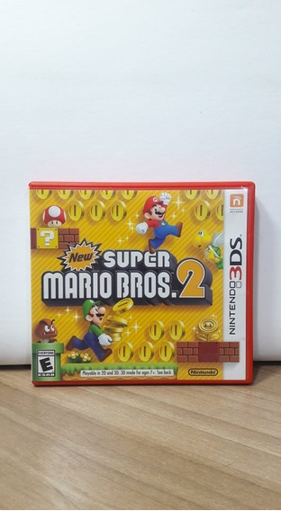 New Super Mario Bros 2 3ds Usado