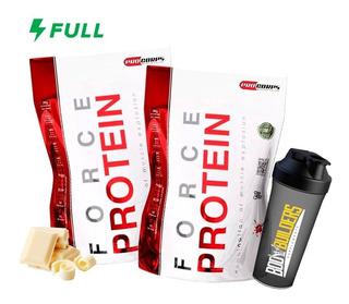 Kit 2x Whey Force Protein - 1800g Cada - Procorps