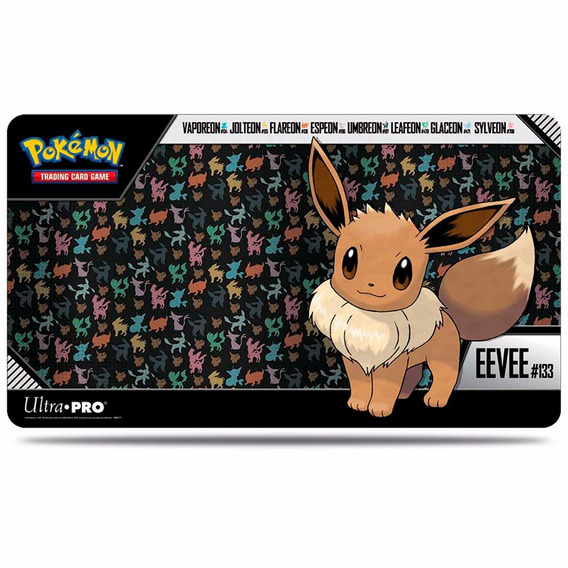 Playmat Para Pokémon Trading Card Game Do Eevee - Lançamento