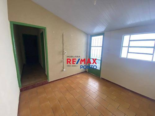 Imagem 1 de 13 de Casa Com 2 Dormitórios Para Alugar, 51 M² Por R$ 650,00/mês - Mirante - Mogi Mirim/sp - Ca0326
