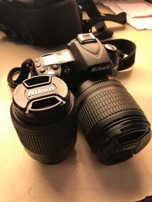 Câmera Nikon D90 Dslr + Bolsa + 2 Lentes