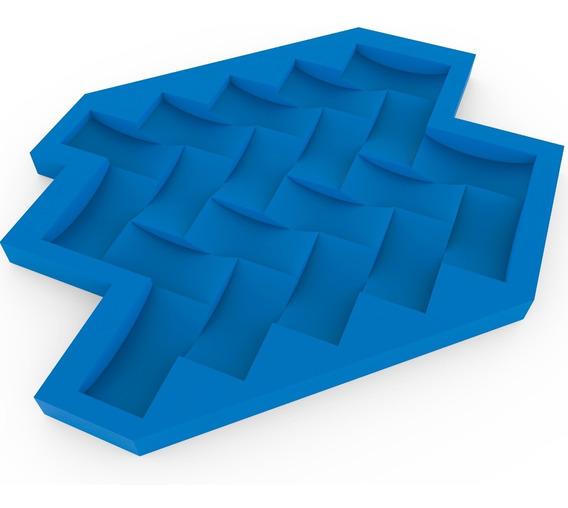 Formas Para Gesso 3d Espinha De Peixe 100% Silicone