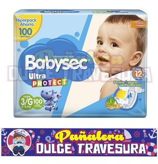 Pañal Babysec Etapa 3 G X100 - Unidad a $599