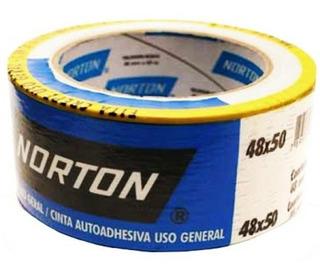 Fita Crepe Norton 48x50m Uso Geral 16 Un