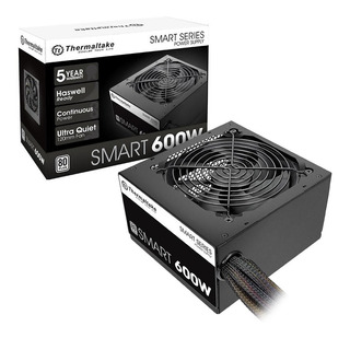 Fuente Alimentacion Pc Thermaltake Smart 600w 80 Plus White