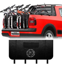 Transbike 3 Bike Pickup Truckpad Protetor Caçamba Corrente