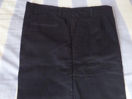 Pantalon De Vestir De Hombre, Azul Oscuro Talle 46