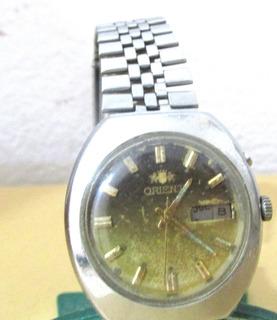 Reloj De Pulsera De Hombre Orient Automático Funcionando N13