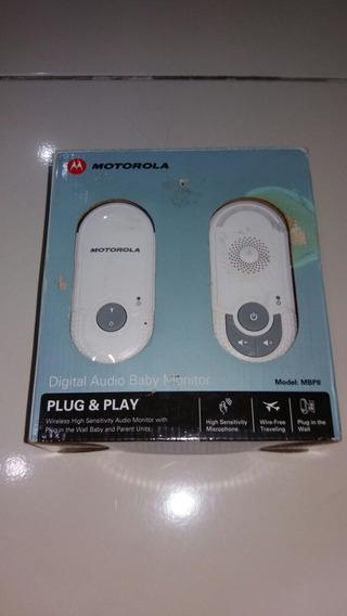 Babá Eletrônica Motorola Mbp8 Pouco Uso 2 Peças Plug & Play