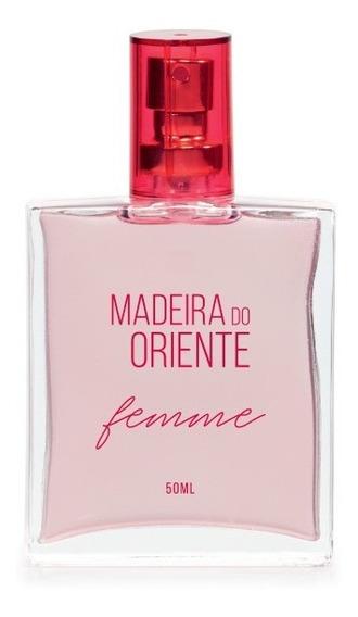 Deo-colônia Madeira Do Oriente Femme Spray Feminina 50 Ml