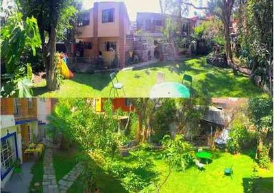 San Nicolas Totolapan, Magdalena Contreras, Terreno En Venta Con 2 Casas, Potencial Para Inversionis