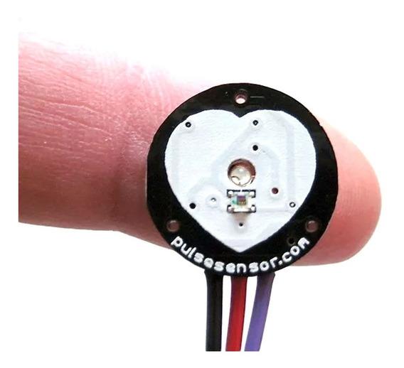 Sensor De Batimento Cardíaco Monitor Pulso Arduino Pic C/nf