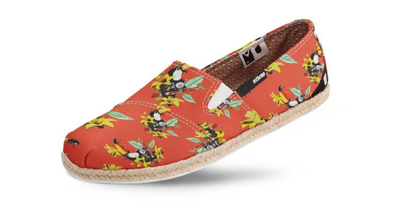Alpargata Usthemp Corda Vegano Casual Tropical South