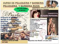 Clase De Peluqueria Y Barberia Integral
