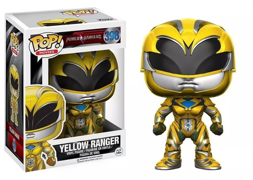 Funko Pop 398 Power Rangers Yellow Ranger Playking