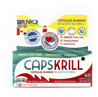 Oferta Capskrill X 80 Comprimidos Omega3 Farmaservis