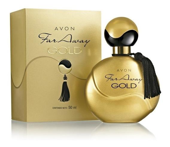 Perfume Avon Far Away Gold 50ml Original