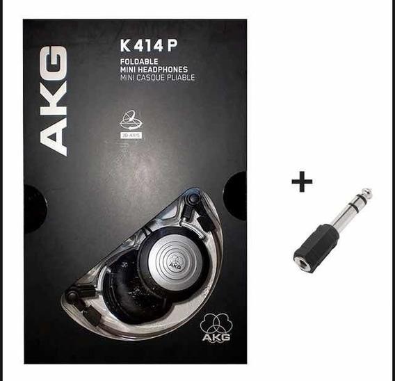 Kit 5 Fones De Ouvido Akg K414p Original Imp. Por Harman Nf