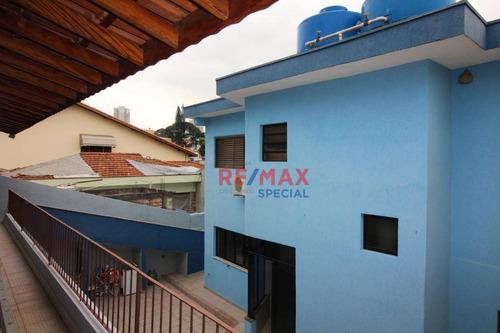 Sobrado Com 3 Dormitórios À Venda, 260 M² Por R$ 920.000,00 - Gopoúva - Guarulhos/sp - So0087