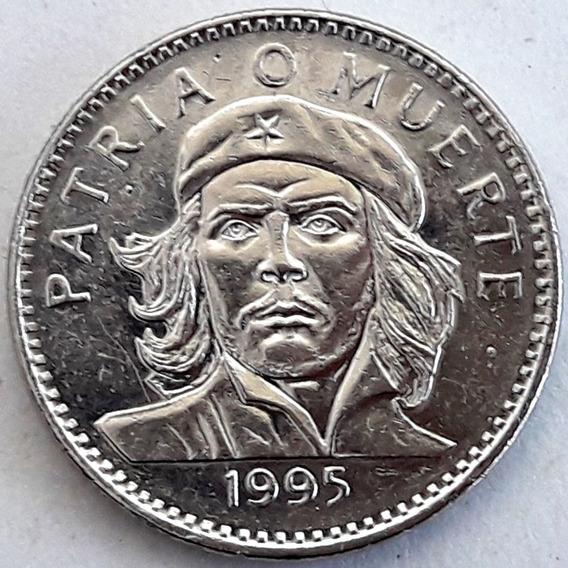 Cuba Moneda Del Año 1995 De 3 Pesos - Che Guevara Excelente