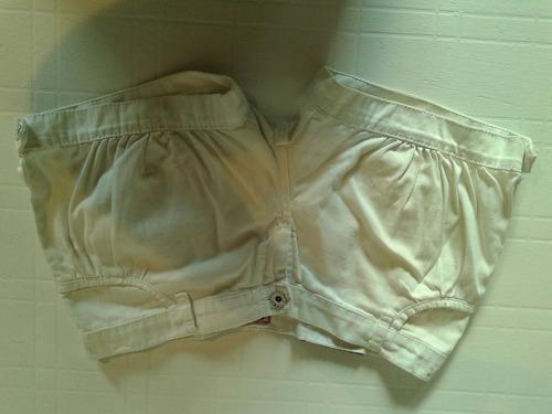 Short Blanco Talle 38