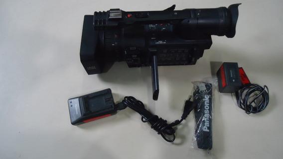 Filmadora Panasonic Ag-hvx200p 3-ccd P2/dvcpro Hd