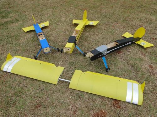Imagem 1 de 4 de Aeromodelo Pastinha Stick Artal Asa Baioneta Novo Modelo