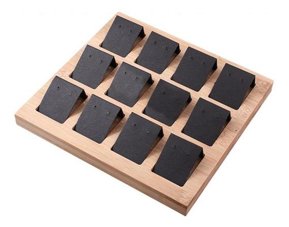 Porta-joias 12 Pares De Brincos De Exibição Cartões Diy Com