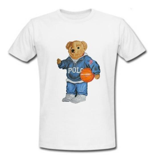 Playera Polo Bear Basquet
