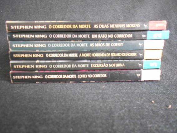 Stephen King - Coleção O Corredor Da Morte - 6 Volumes