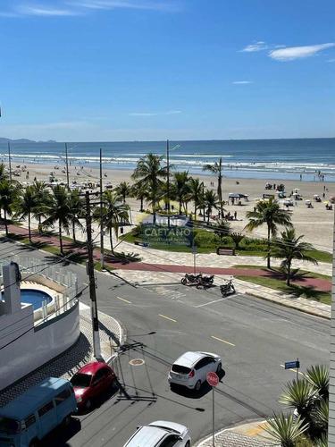 Imagem 1 de 30 de Mobiliado E Decorado, Com Aquela Vista Mar!!! - Vnst969