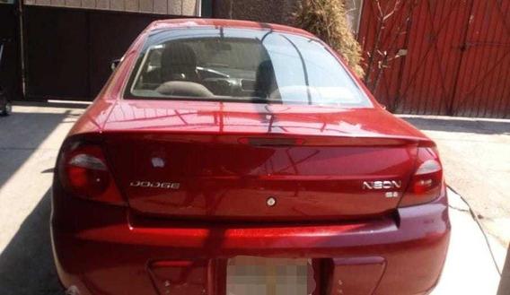 Neon Dodge 2004 Rojo