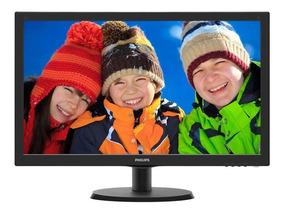 Monitor Led 18,5 Philips 193v5lsb2 18,5 Led 1366 X 768