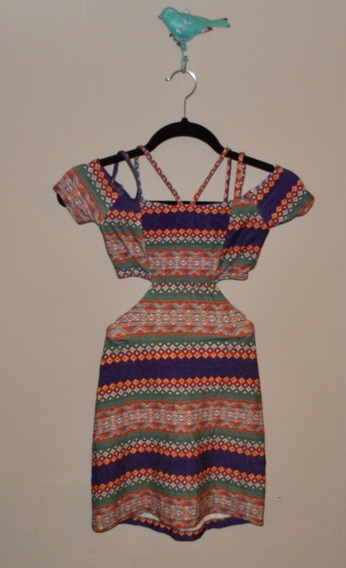 Vestido Dress To Infantil/ Love Dress Malha Estampado