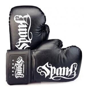 Luva De Boxe E Muay Thai Spank Infantil 6oz Preto