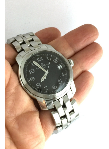 Relógio Nivel Omega Vistoso Baume Mercier Capeland Safira 40 Mm Coroa Rosqueada Todo Original - 13 Anos No Mercado Livre