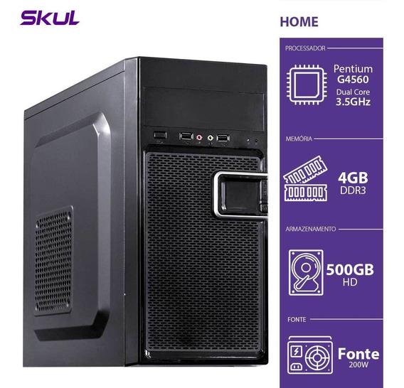 Computador Home H200 - Pentium Dual Core G4560 3.5ghz 4gb Dd