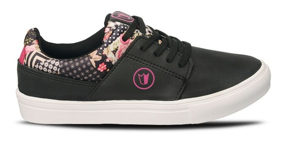 Zapatillas Prowess 1193 Skate Eco Cuero Mujer Fucsia 35-41