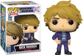 Figura Funko Pop Duran Duran - Nick Rhodes 129 Mejor Precio