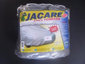 Capa Jacaré Tamanho Especial Gg 100% Impermeável Forro Total