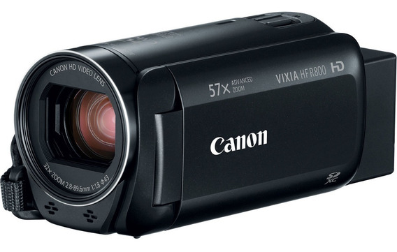 Filmadora Canon Vixia R800 Ent Mic R800+64gb+bolsa+tripé Nf