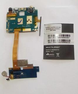 Placa Lógica Multilaser Ms45