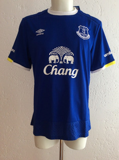 Jersey Everton Inglaterra Local Temporada 2016-2017 Umbro