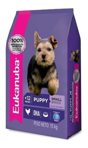 Imagen 1 de 2 de Eukanuba Cachorros Razas Pequeñas 1kg!