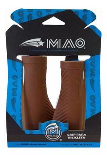 Puños Para Bicicletas Kraton Ergonómico Mao Marron Pase/mtb