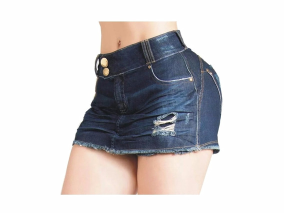 Short Jeans C/lycra Curto Pit Bull Orginal